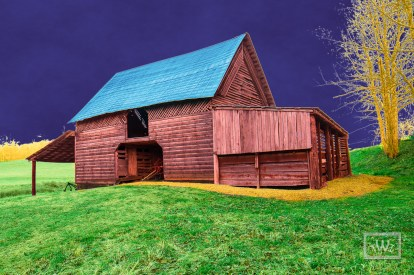 Colorful Barn Photographer