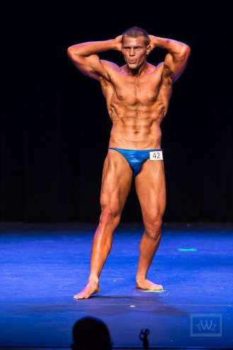 Bodybuilder On Stage