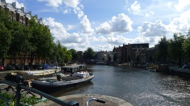 on the sunny side of the canal #Amsterdam | Aug.24