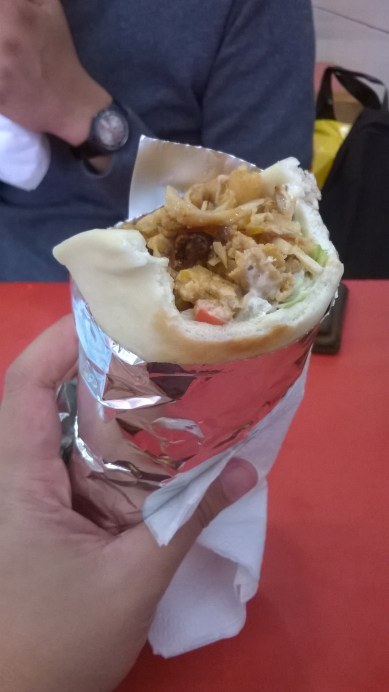 Chicken Durum from a doner at the Centrum. | Aug.16