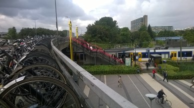 Delft Zuid Station. | Aug.18