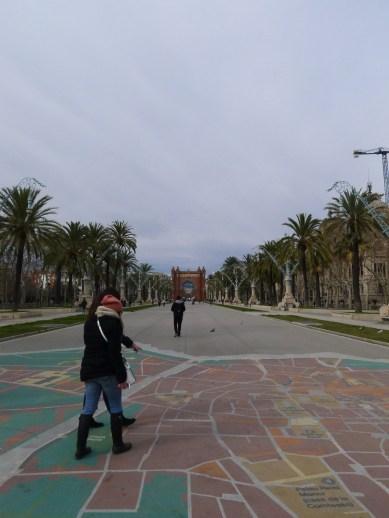 Barcelona's Ard de Triomf.