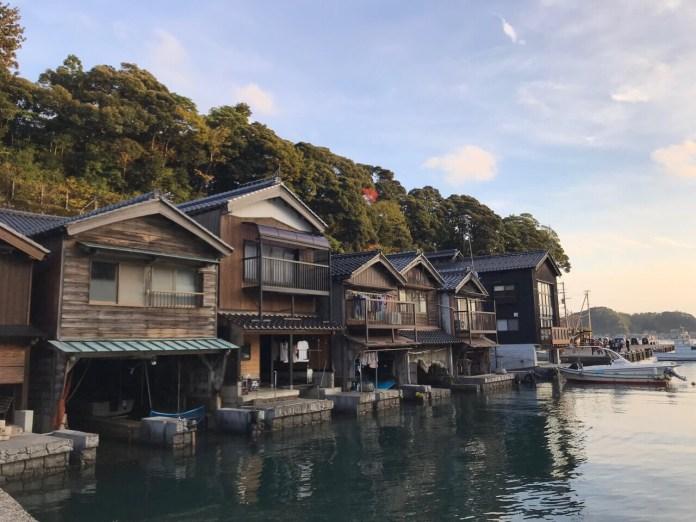 京都 伊根舟屋 船庫