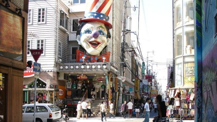 大阪美國村。圖片來源:happyjappy