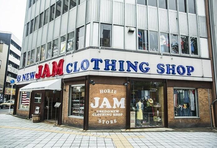 JAM古著店。圖片來源:comepass