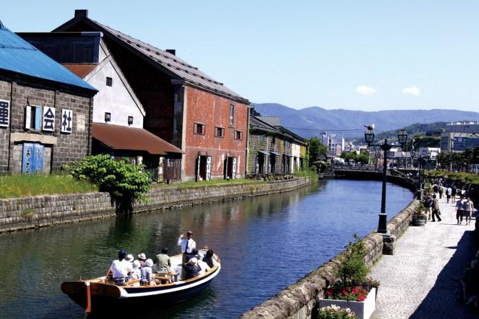 小樽運河遊覽船