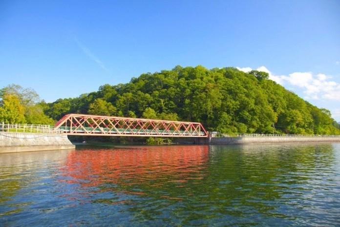 支笏湖 山線鐵橋