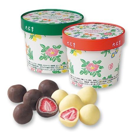 草莓巧克力球