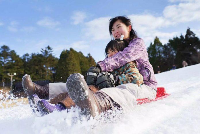 六甲山 雪上樂園