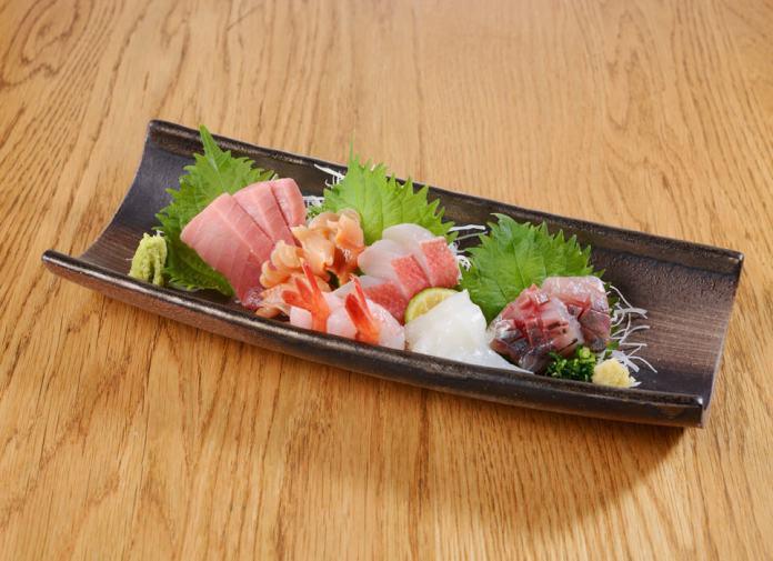 第三航廈 TATSU SUSHI 生魚片拼盤
