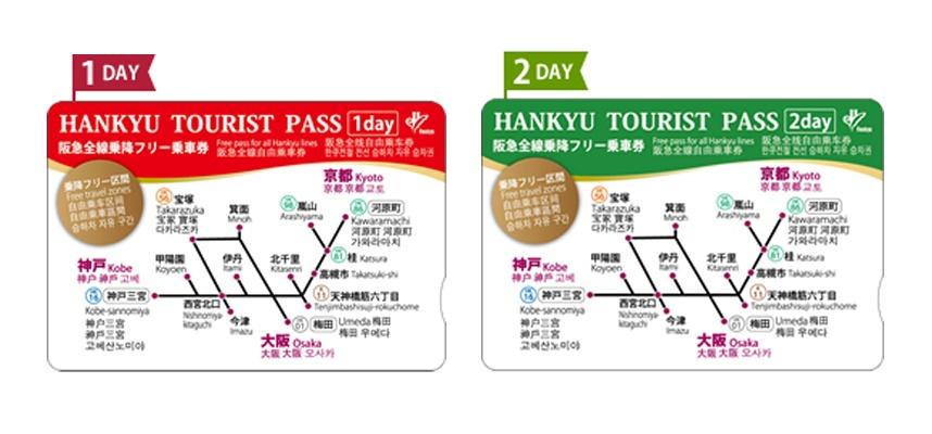 大阪到關西城市交通, 【大阪交通】大阪到京都、奈良:交通一日券、旅遊套票攻略(神戶、姬路城、和歌山、JR)