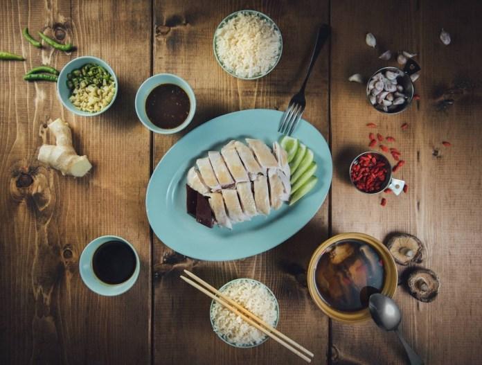 紅大哥水門雞飯 1
