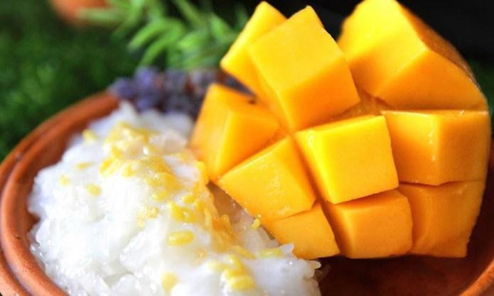 芒果糯米飯 1