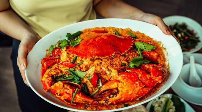 Savoey Restaurant 咖哩螃蟹