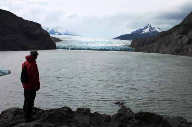 Zaid at Glacier Grey
