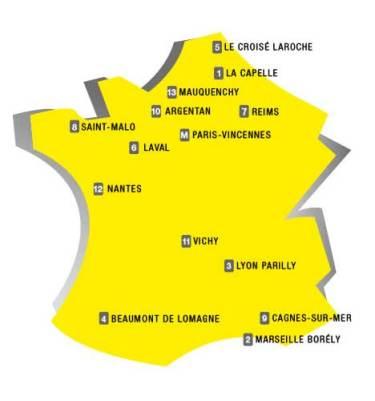 Her afvikles fransk travsportsTour de France 2o15