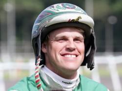 Jeppe Juel havde god grund til at have det store smil fremme efter løbene på Bornholm i aftes,i Aalborg. Arkiv