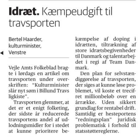 Bertel Haarders læserbrev