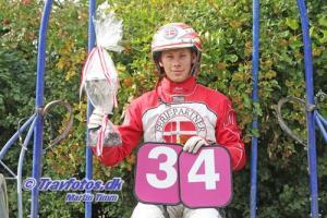 Mads Petersen - - tilbage som amatør på Bornhollm