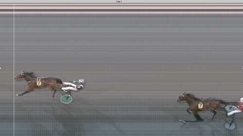 Mtios Gold med Johnny Takter vinder sætter og stter svensk rekord 1.14.3/1640 m volte