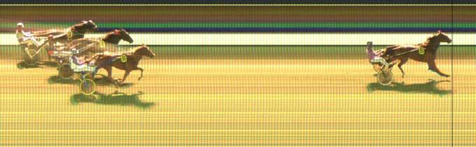 Thgis is Anfield vadt med 5 længder foran Tina Danstone, der var bedst af resten.