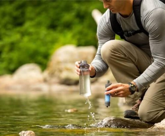 Beste waterfilter voor op reis