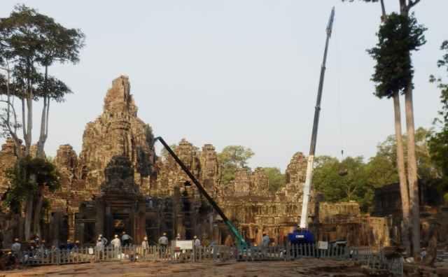 Angkor restauratie tempels