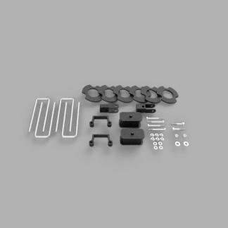 "Kit #406029 – 2007-2018 Chevrolet Silverado 1500/GMC Sierra 1500 – 3″ – 3.5"" Front 1.5″ Rear Lift Kit"