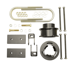Kit #605045 – 2013-2021 Dodge Ram 3500 4×4/4×2 – 2.5″ Front And 1″ Rear Lift Kit – GAS ONLY