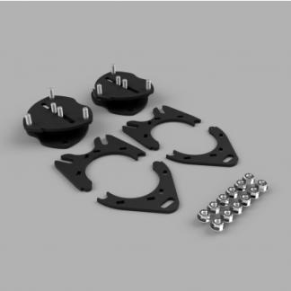 Kit #202031 – 2017-2021 Honda Ridgeline 2wd/4wd/AWD/ 2016-2021 Pilot/ 2019-2021 Passport – 1.5″ Front 0.5″ Rear Lift Kit