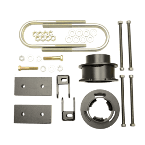 KIT #605049 – 2013-2021 DODGE RAM 3500 4X4/4X2 – 2.5″ FRONT AND 1″ REAR LIFT KIT – DIESEL WITH OVERLOAD SPRINGS ONLY