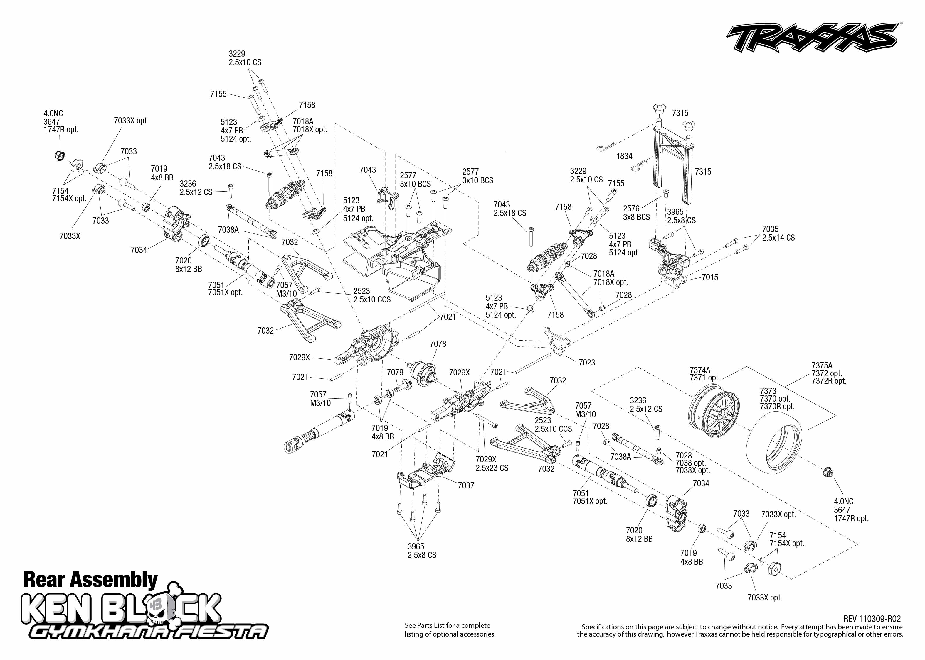 traxxas revo 3 parts diagram 88 toyota 22re engine 26 wiring images