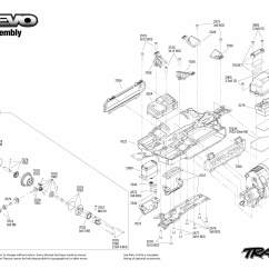 E Revo Brushless Parts Diagram Towing Socket Wiring Traxxas Rustler