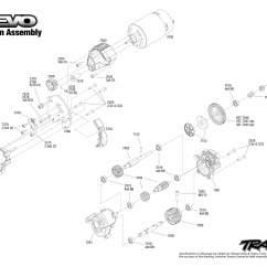 Traxxas T Maxx 2 5 Transmission Diagram Mustang Mach 460 Wiring Jato Revo 3