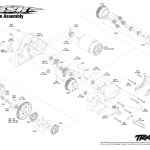 Traxxas Slash 5803 Transmission Assembly Exploded View Traxxas