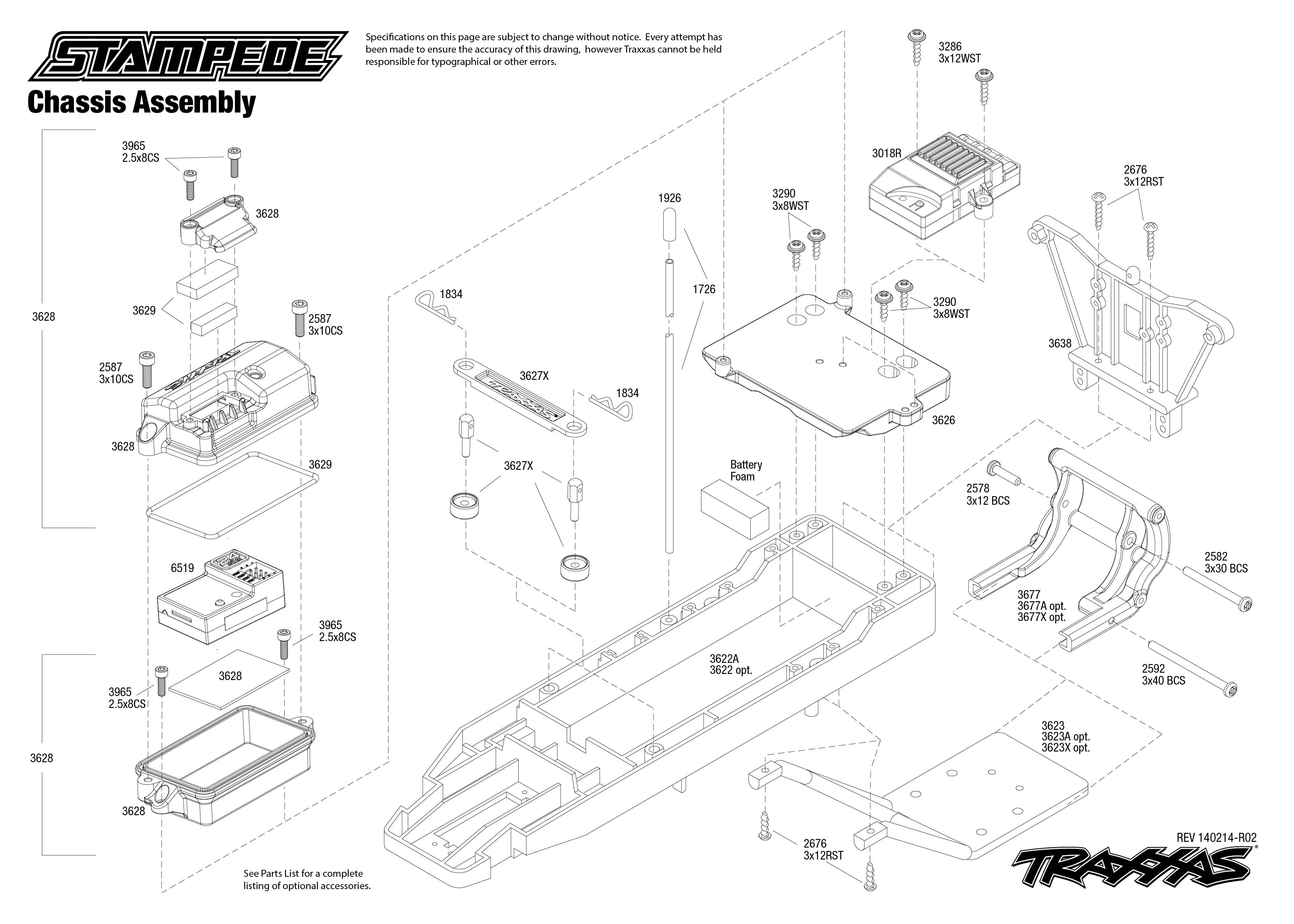 Traxxas 6518 Wiring Diagram : 27 Wiring Diagram Images