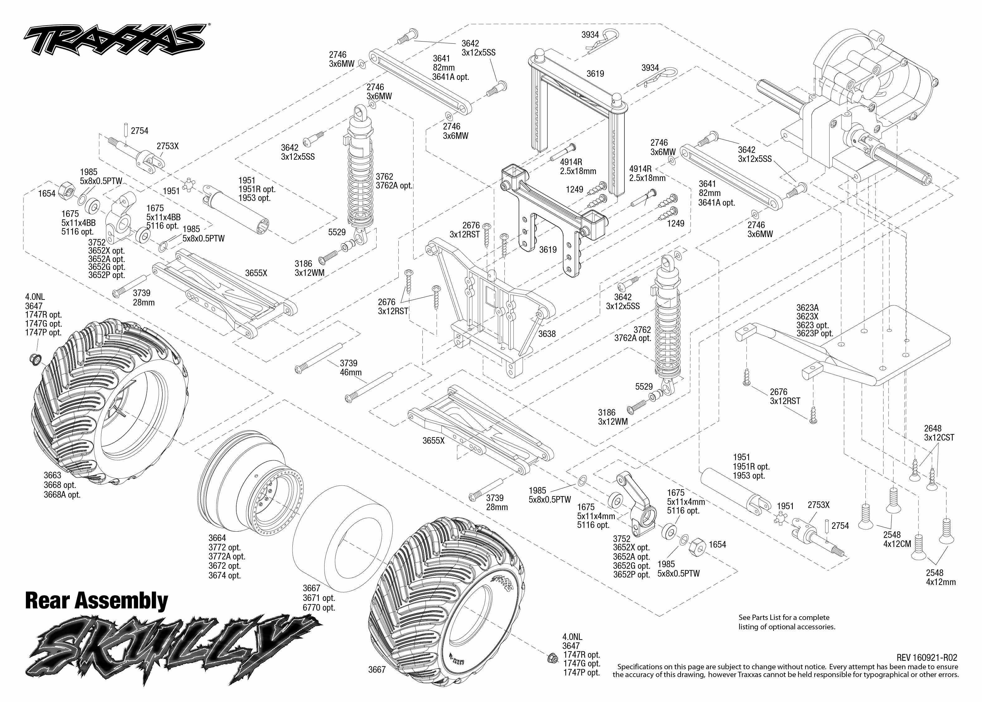 traxxas t maxx 2 5 transmission diagram fender american professional jazzmaster wiring stampede xl parts