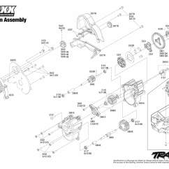 Traxxas T Maxx 2 5 Transmission Diagram Automotive Wiring Diagrams Download E Brushless 39087 3 Assembly Exploded