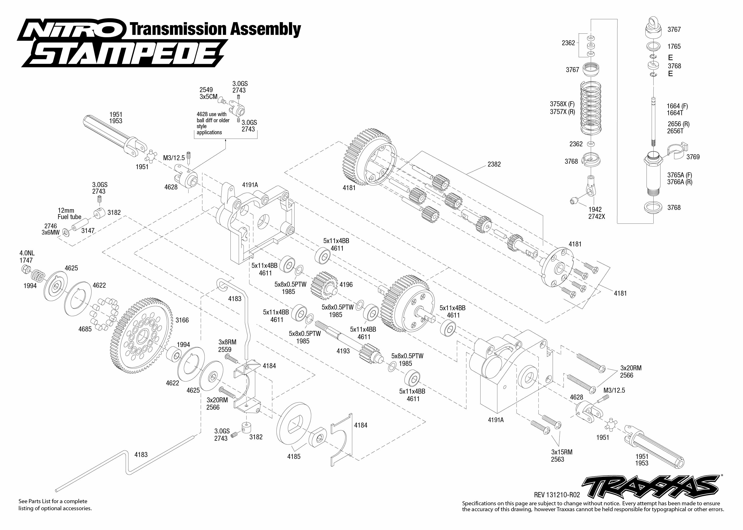 Stampede Parts Diagram Pictures To Pin