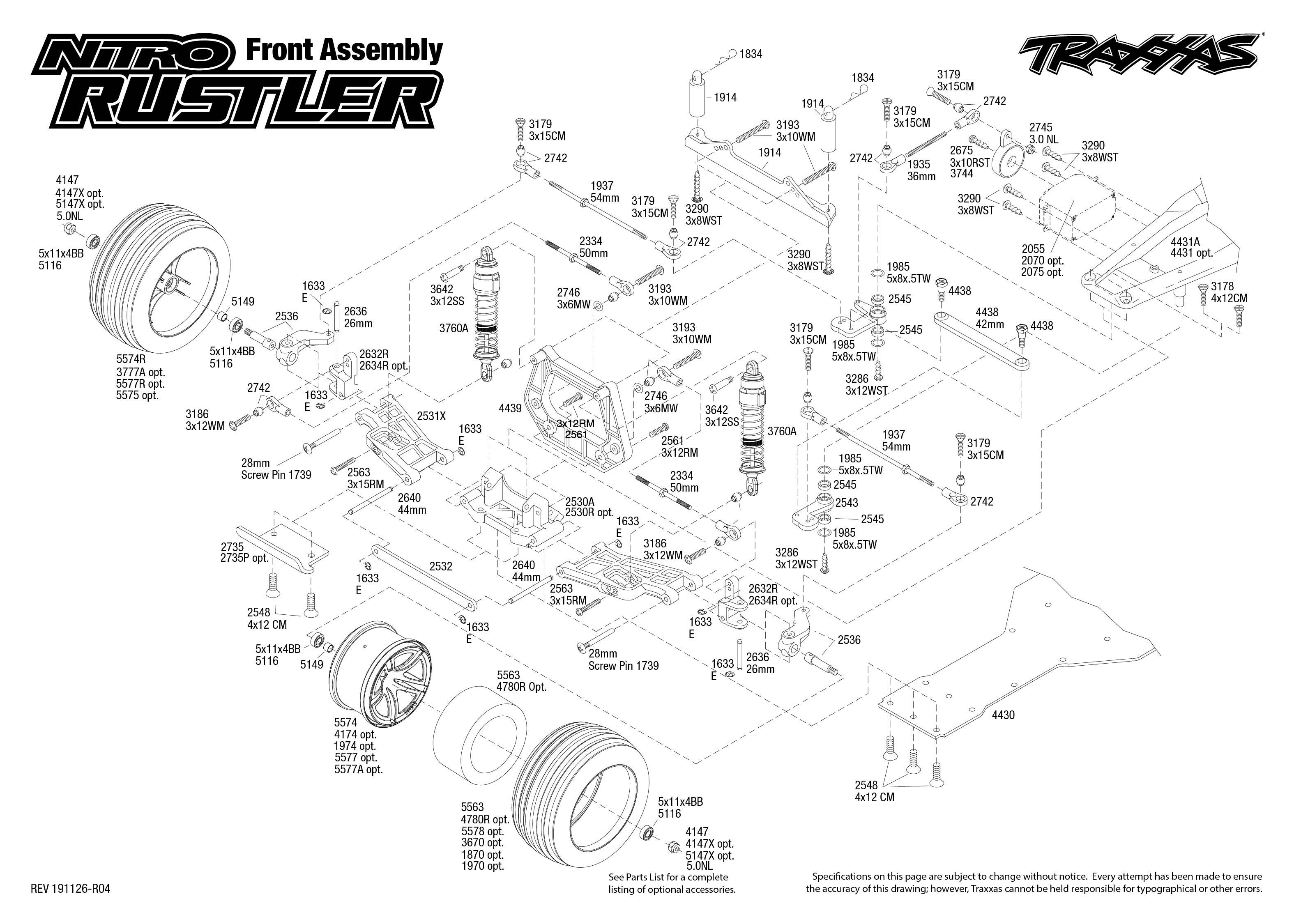 Traxxas Nitro-Rustler 2.4GHz TQi TSM. Silver Blue