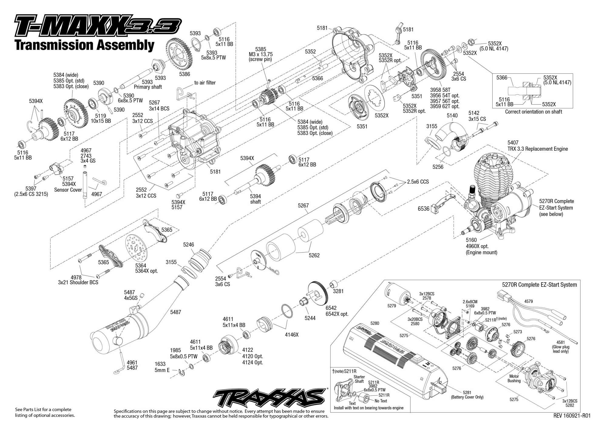 hight resolution of transmission complete parts list original manual