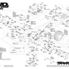 Traxxas Revo 3 Parts Diagram Fujitsu Ten Wiring 26 Images
