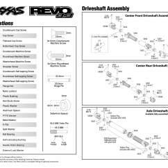 Traxxas Revo 3 Parts Diagram Aprilia Rs 50 2007 Wiring 5309 Driveshafts Exploded View W Tqi 2 4ghz