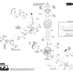Traxxas Revo 3 Parts Diagram John Deere 317 Ignition Switch Wiring Jato 55077 Engine Assembly Exploded View