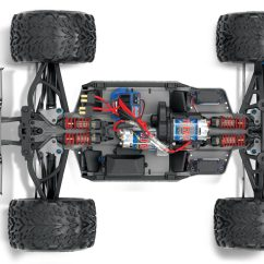 E Revo Brushless Parts Diagram Electric Tankless Water Heater Wiring 1 10 Scale 4wd Racing Monster Truck With