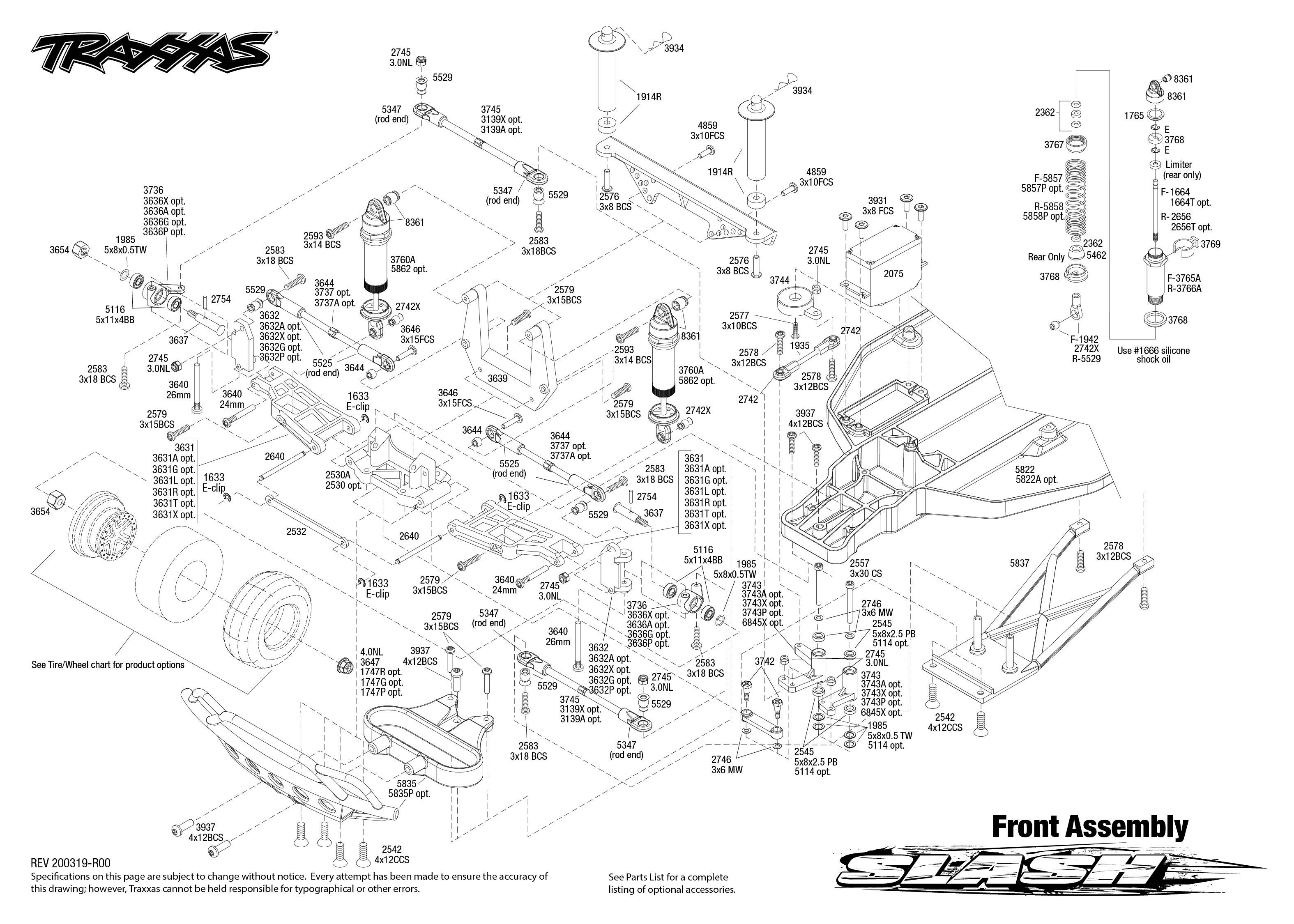 Traxxas Slash 2WD 1/10 Scale Short Course Racing Truck Kit