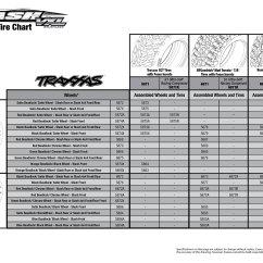Gear Ratio Diagram Franklin Well Pump Control Box Wiring 5807 Tire Chart (slash Vxl, With Tqi 2.4ghz Radio) | Traxxas