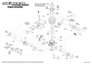 Slayer Pro 4X4 (590763) Engine Assembly Exploded View