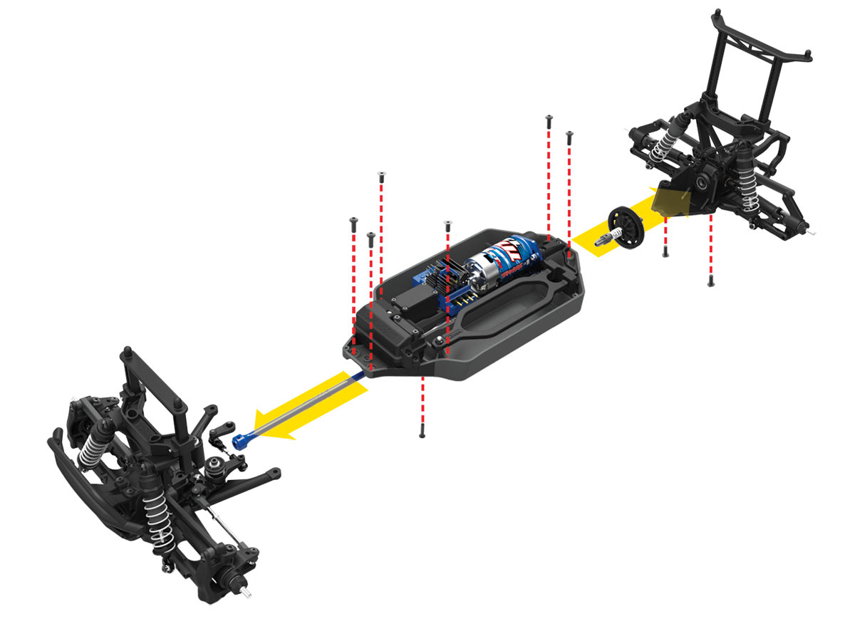 Telluride: 1/10-scale 4X4 Electric Extreme Terrain 4WD