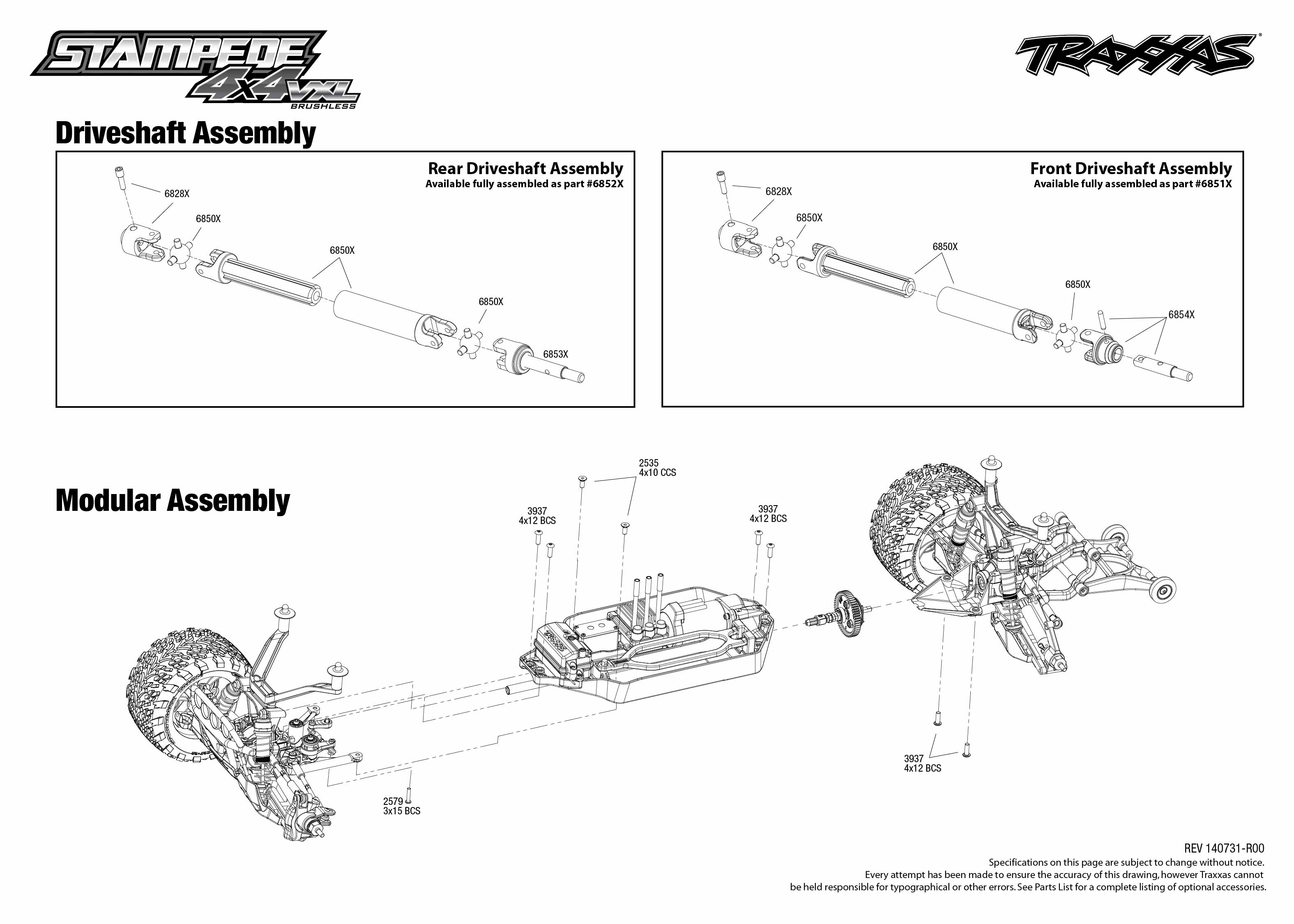 traxxas rustler vxl parts diagram of the tabernacle moses stampede 4x4 67086 1 driveshaft assembly exploded
